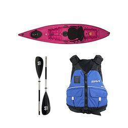 Ocean Kayak Venus 11 Kayak Fuschia - Deluxe Package - X Smal