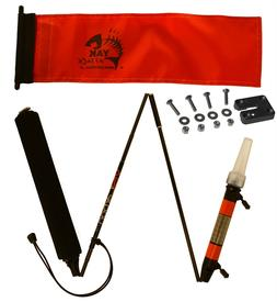 YakAttack Visicarbon Pro Kayak Safety Flag LED Lamp and Migh