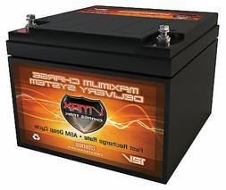 VMAX V28-800S 12V 28AH KAYAK TROLLING MOTOR MARINE AGM DEEP