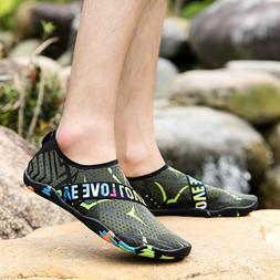 Water Shoes Men Quick-Dry Aqua Sock Outdoor Athletic Sport S