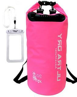 Premium Waterproof Bag, Sack with Phone Dry Bag and Long Adj