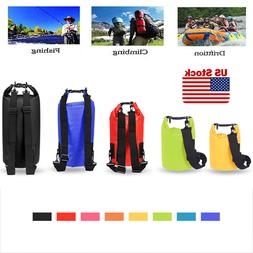 Waterproof Dry Bag 2L/5L/10L/15L/20L for Beach, Kayak, Fishi