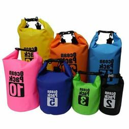 Waterproof Dry Bag Backpack Canoe Kayak Rucksack Surfing Sto