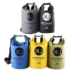 Waterproof Dry Bag Backpack Kayak Ocean Pack Sack Multi Colo