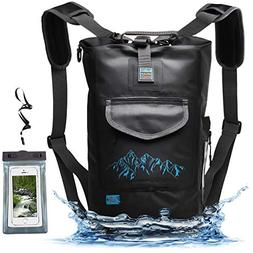 Luck route Waterproof Dry Bag Backpack Straps Smart Pockets
