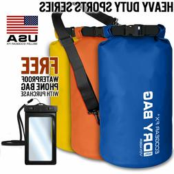 Waterproof Dry Bag Roll Top Gear Bag Kayak Fishing Camping S