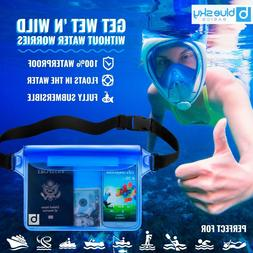 blue sky BASICS Waterproof Pouch with Waist Strap  | Best Wa