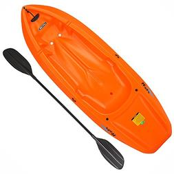 Lifetime Wave; Orange Kayak with Paddle