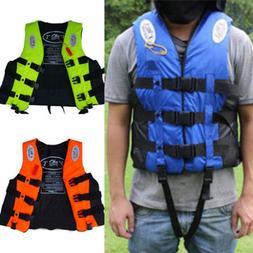 Women Men Buoyancy Aid Sailing Kayak Fish Life Jacket Preser