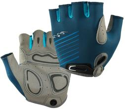 Womens NRS Boaters Gloves MORACCAN BLUE Kayak Paddling Faux