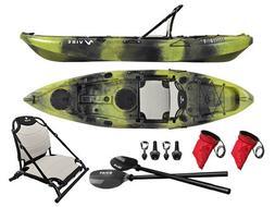 Vibe Yellowfin 100 10' Fishing Kayak + Paddle- Moss Camo