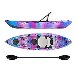 Vibe Yellowfin 100 10' Fishing Kayak + Paddle - Jam Berry