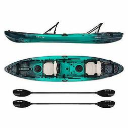 Vibe Kayaks Yellowfin 130T | 13 Foot | Tandem Angler and Rec