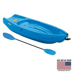 Lifetime, 6', 1-Man Wave, Youth Kayak, with Paddle, Blue, 90