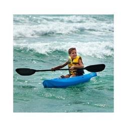 Youth Kayak Blue 6' Paddle Camping Children Safe Stable Kids
