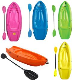 Youth Kids 6' Kayak with Paddle Included 132 lb Capacity Lif
