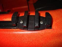 ZigZag Cleat for Vibe & Field & Stream Kayak Slide Rail Trac